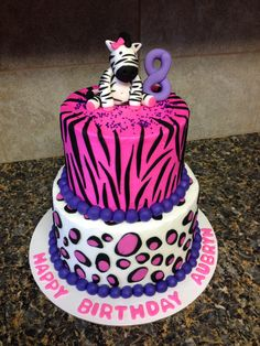 Cake for Mallorie's Birthday