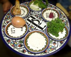 AWESOME The Feast of Passover and the Seder Plate