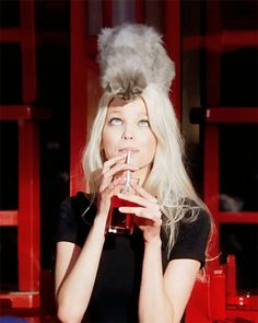 Daphne Groeneveld for Dior Addict