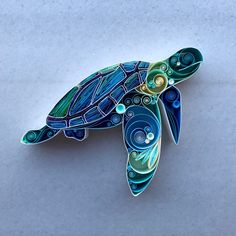 I'm turtley in love with you Quilling Art, Wedding/Engagement, Husband Wife Anniversary Gift, Christ Ideas Quilling, Paper Quilling Tutorial, Paper Quilling Patterns, Paper Quilling Jewelry, Origami And Quilling, Quilling Paper Craft, Quilling Craft, Paper Beads, Quiling Paper Art