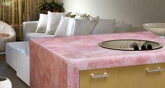 Rose Quartz counter