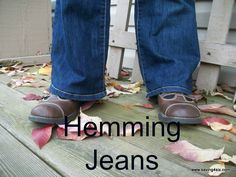 Saving 4 Six: How To Hem Jeans