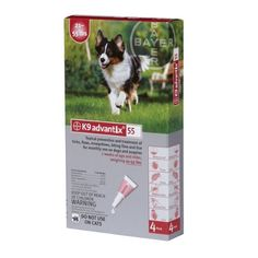 Bayer K9 Advantix II Red 4-Month Flea & Tick Drops for Large Dogs 21-55 lbs.  http://www.amazon.com/Bayer-Advantix-4-Month-Drops-Large/dp/B004QMX4YW/?tag=httpbetteraff-20