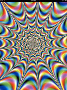 Trippy, my eyes are spazzing from this picture.