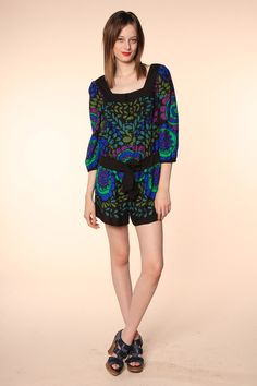Anna Sui Resort 2014 Collection Slideshow on Style.com