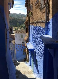 48 Hours in Chefchaouen – The Perfect Itinerary Modern Cafe, Moroccan Lighting, Beautiful Streets, Main Attraction, Breath In Breath Out, City Photography, Day Trip, All Over The World, Morocco
