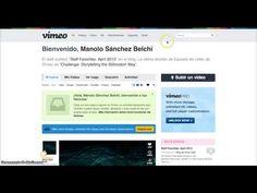 Cómo subir un vídeo a Vimeo - YouTube