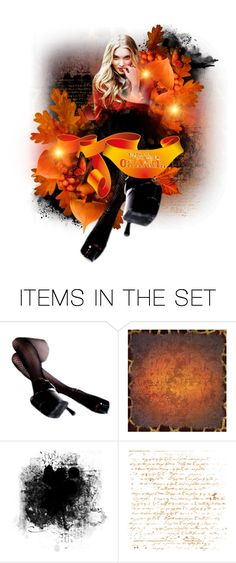 """Embrace your inner orange"" by poshtrish ❤ liked on Polyvore featuring art"