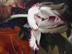 Vase of Flowers (Middle Right Detail) 1722, Jan van Huysum… | Flickr