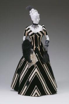 WOW!  Evening Dress, Jacques Doucet, 1890s, The Mint Museum