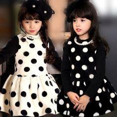 $15.99 (Buy here: https://alitems.com/g/1e8d114494ebda23ff8b16525dc3e8/?i=5&ulp=https%3A%2F%2Fwww.aliexpress.com%2Fitem%2FFree-Shipping-Winter-Girl-villus-Dresses-baby-Girls-Dot-fur-dresses-Children-kids-princess-Black-White%2F32496498568.html ) Free Shipping Winter Girl villus Dresses baby Girls Dot fur dresses Children kids princess Black White dress for just $15.99