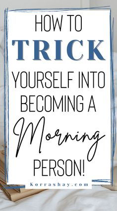 Morning Person, Morning Morning, How To Stop Procrastinating, Things To Do Alone, Getting Up Early, Time Management Tips, Morning Motivation, Self Improvement Tips, How To Wake Up Early
