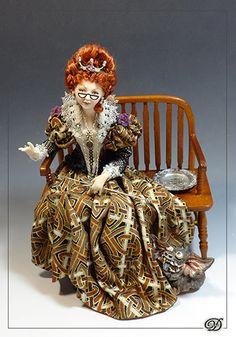 Dana of Miniature Art - 1:12 scale Art Dolls