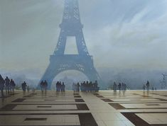 Irrésistible Paris en Aquarelles de Thierry Duval (7)