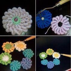 Tecnica freeform applicabile con l'uncinetto SMIRNE #crochet #smirne #freeform…