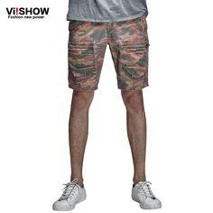 VIISHOW Brand Camouflage Men Shorts Summer Beach Men's Casual Shorts Male Loose Hip Hop Harem  Trouser  Men Suits