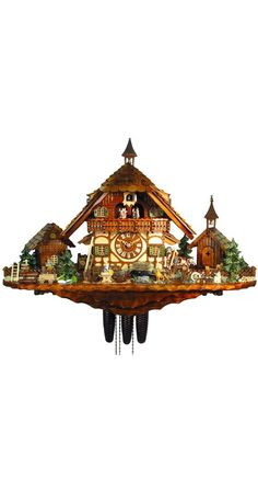 Wow! The Cuckoo Clock of the Year 2012 - Farm of the Goat Herder by August Schwer