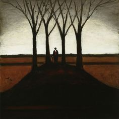 John Caple Farmer Standing on Barrow, Somerset