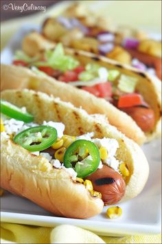 Create a fun and varied Ball Park Park's Finest hot dog bar with all your favorite add-ons for the best summer grilling party! #ad #FinestGrillathon