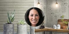 Joanna Gaines new line of wall coverings, yes, there is shiplap!