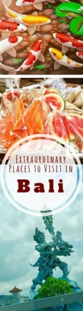 Extraordinary Places to Visit in Bali
