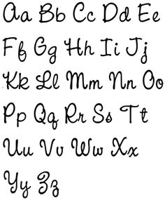 lower-case letters Hand Lettering Alphabet, Calligraphy Alphabet, Calligraphy Fonts, Creative Lettering, Lettering Design, Letras Cool, Journal Fonts, Journaling, Hand Lettering Tutorial