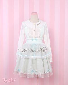 【To Alice】 C165-愛麗絲刺繡背帶裙-淘寶網