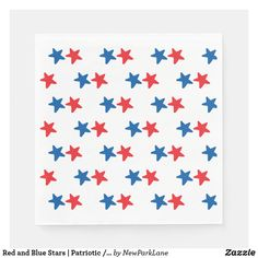Red and Blue Stars Picnic Themed Parties, Memorial Day Celebrations, Fireworks Background, Patriotic Images, Blue Party, Ecru Color, Patriotic Decorations, Star Art, Blue Aesthetic
