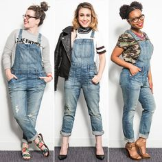 This Is What Happened When 7 Editors Tried On 1 Pair of Overalls