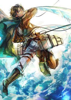 Levi rivaille ackerman heichou attack on titan shingeki no kyojin ♤ anime ♤ Armin, Levi X Eren, Levi Ackerman, Titan Manga, Yuri, Manga Anime, Anime Art, Hot Anime, Titans Anime