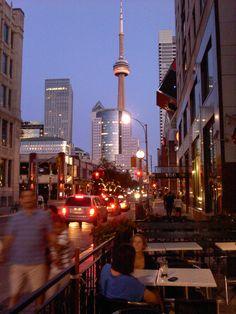 Summer Toronto Night