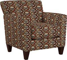 Allegra Stationary Occasional Chair by La-Z-Boy adobe