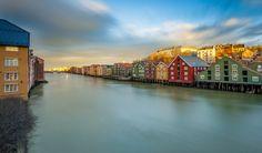 Trondheim, Nidelva, Bakklandet by Aziz Nasuti on 500px