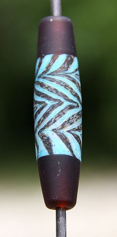La Cage Aux Copper Handmade Lampworked Glass Bead by ninaeagle, $19.99