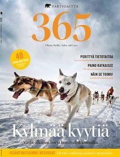 365 #2 2012  365 on yhdistetty tuotekuvastomme ja asiakaslehtemme. Ammattilaisten tuottaman toimituksellisen osion lisäksi se pitää sisällään laajan katsauksen tuotevalikoimaamme. 365:n artikkelit käsittelevät ulkoilua, elämyksiä ja luontoa. Lisäksi lehti tarjoaa osaavien retkeilijöiden ja erikoiskaupan ammattilaisten antamia hyviä vinkkejä muun muassa vaatteiden valintaan, jalkineiden hoitoon ja ulkoiluvarusteiden hankintaan. Outdoor Magazine, Graphic Design, Dogs, Animals, Animales, Animaux, Pet Dogs, Doggies, Animal