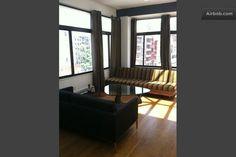Bright Soho/Nolita 3 Bedroom Loft in New York Bedroom Loft, New York Travel, Soho, Perfect Place, Bright, Vacation, Apartments, Furniture, Home Decor