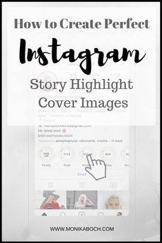 How to create perfect Instagram Story Highlight Cover Images for FREE! | Takes only a few minutes to make your Instagram page look like a real influencers|  Plus, free downloads for Instagram Story Highlight Covers |