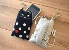 Cute Cat Mobile Case from Decole Japan!