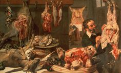 Butcher Art for Sale
