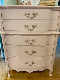 Used Vintage French Provincial Tall Boy Dresser for sale in West
