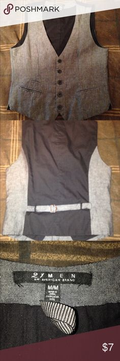 Vest No tears or stains, lightly worn 21men Shirts Casual Button Down Shirts