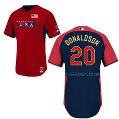 http://www.yjersey.com/hot-usa-20-donaldson-red-2014-future-stars-bp-jerseys.html HOT USA 20 DONALDSON RED 2014 FUTURE STARS BP JERSEYS Only 36.00€ , Free Shipping!