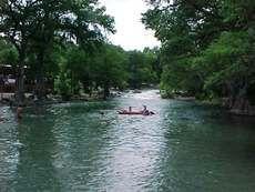 Guadalupe River in Gruene, Texas