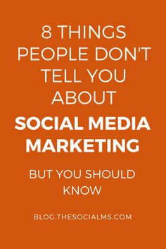 Social media marketing on the surface and in success stories looks straight forward. But there are many social media marketing secrets that you should know.