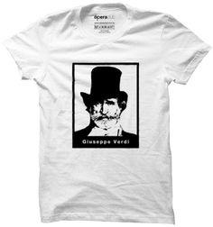 Camiseta Verdi Retrato #música #ópera #tshirts #camisetas operaclub.com.br
