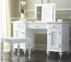 Functional Chelsea Vanity With Mirror | Vanities, Bedrooms and ...