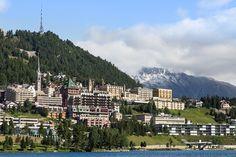 St. Moritz, Switzerland, Mortizersee