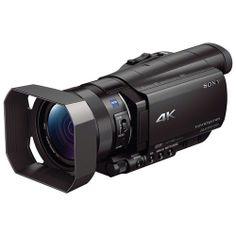 Sony FDR-AX100 4K Ultra HD Camcorder (Black)