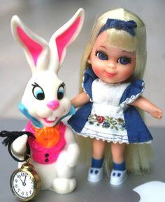 Vintage Mod Mattel Alice Wonderliddle Storybook Kiddle in Excellent Shape   eBay