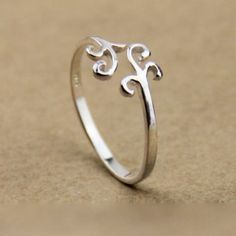 Sweet Simple Cloud Silver Ring for only $17.90 ,cheap Fashion Rings - JewelryAccessories online shopping,Sweet Simple Cloud Silver Ring is very cute and pretty.